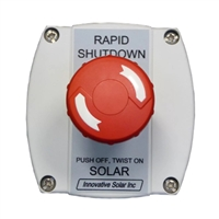 SolaDeck PV Rapid Shutdown Compact E-Stop Switch