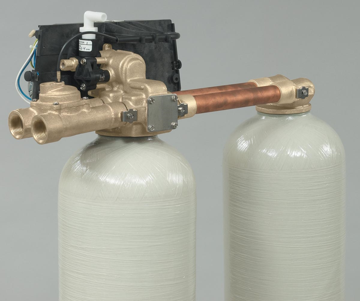 "Inverters For Sale >> Fleck 9000 3/4"" Metered Softener Valve Less Drain Line Flow Control and Cover"