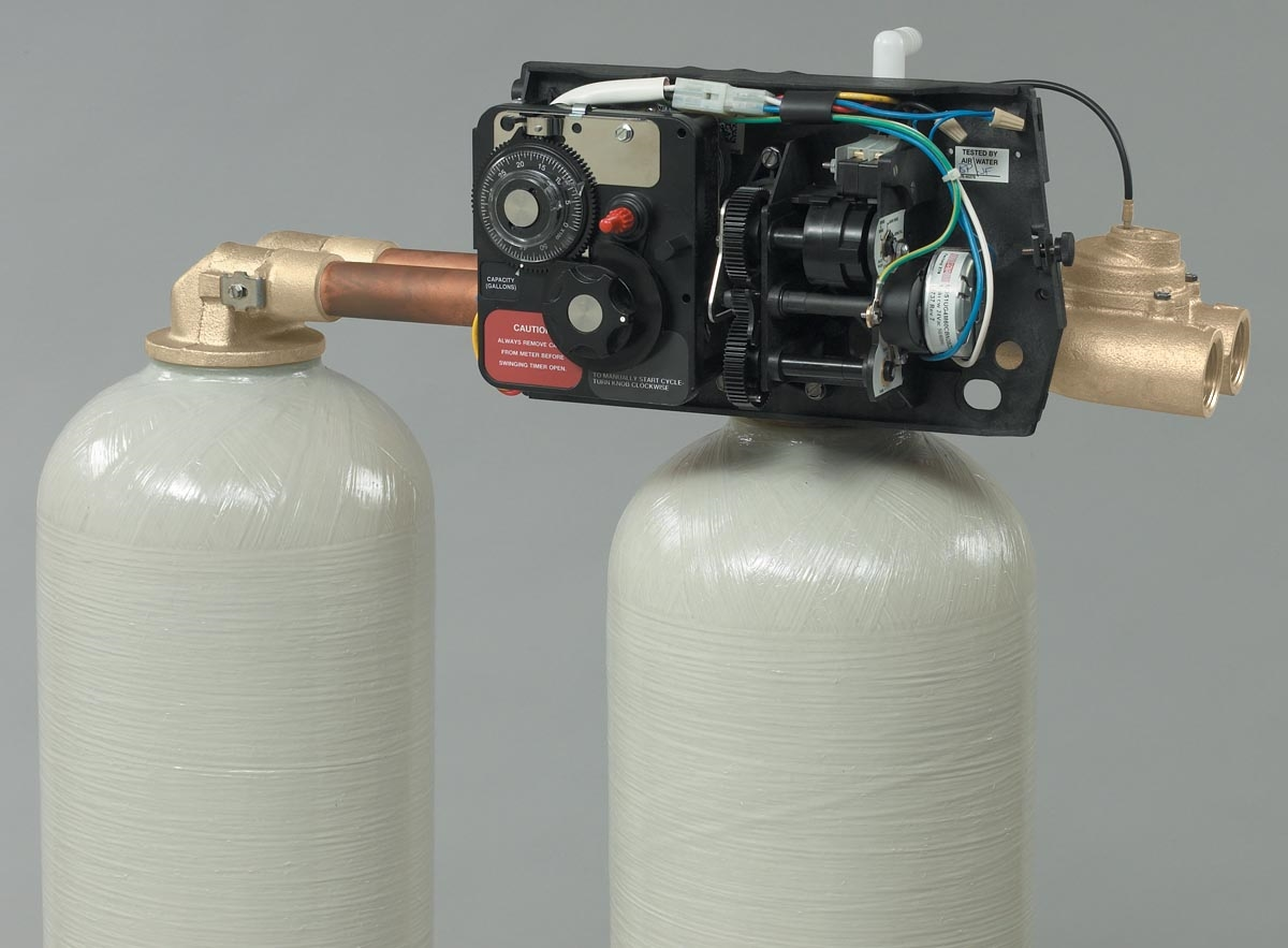 Fleck 9000 1 Quot Meter Valve Less Drain Line Flow Control And