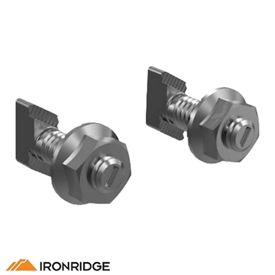 Ironridge Microinverter Bonded Mounting Kit With T Bolt