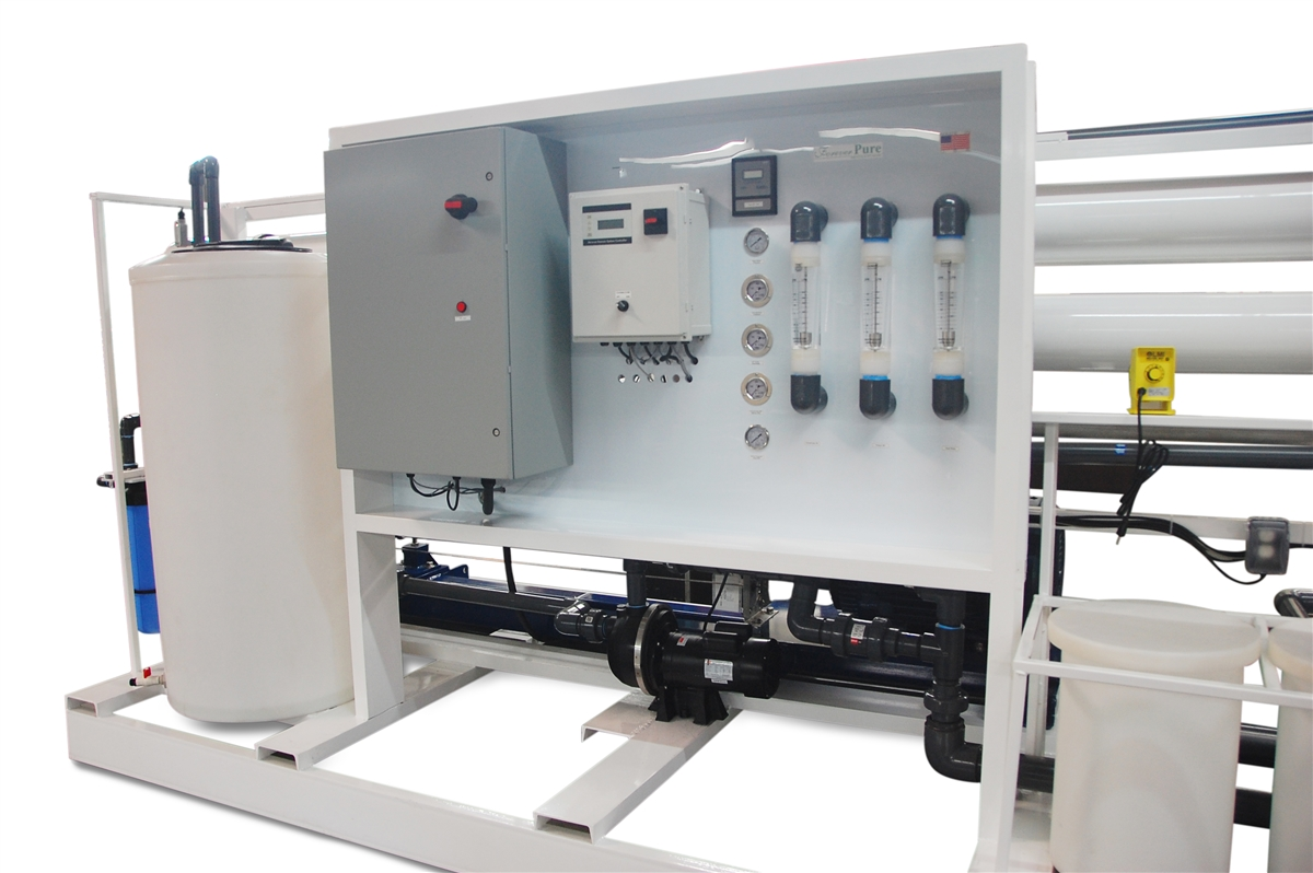 Solar Water Desalination System For Data Acquisition System : Gpd seawater desalination system with energy