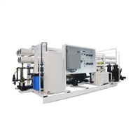 SWRO-HE-300 TPD-CNT 79,200 GPD/ 300 M3/Day High Efficiency Containerized Seawater Reverse Osmosis Desalination System
