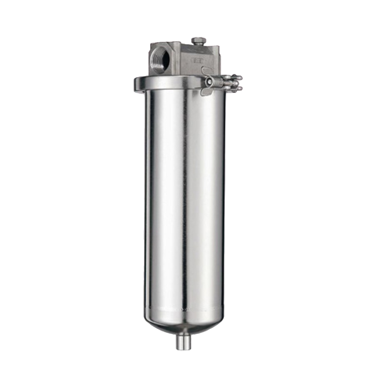 Stainless Steel Air Cleaner Housing : Ss stainless steel single element filter housing