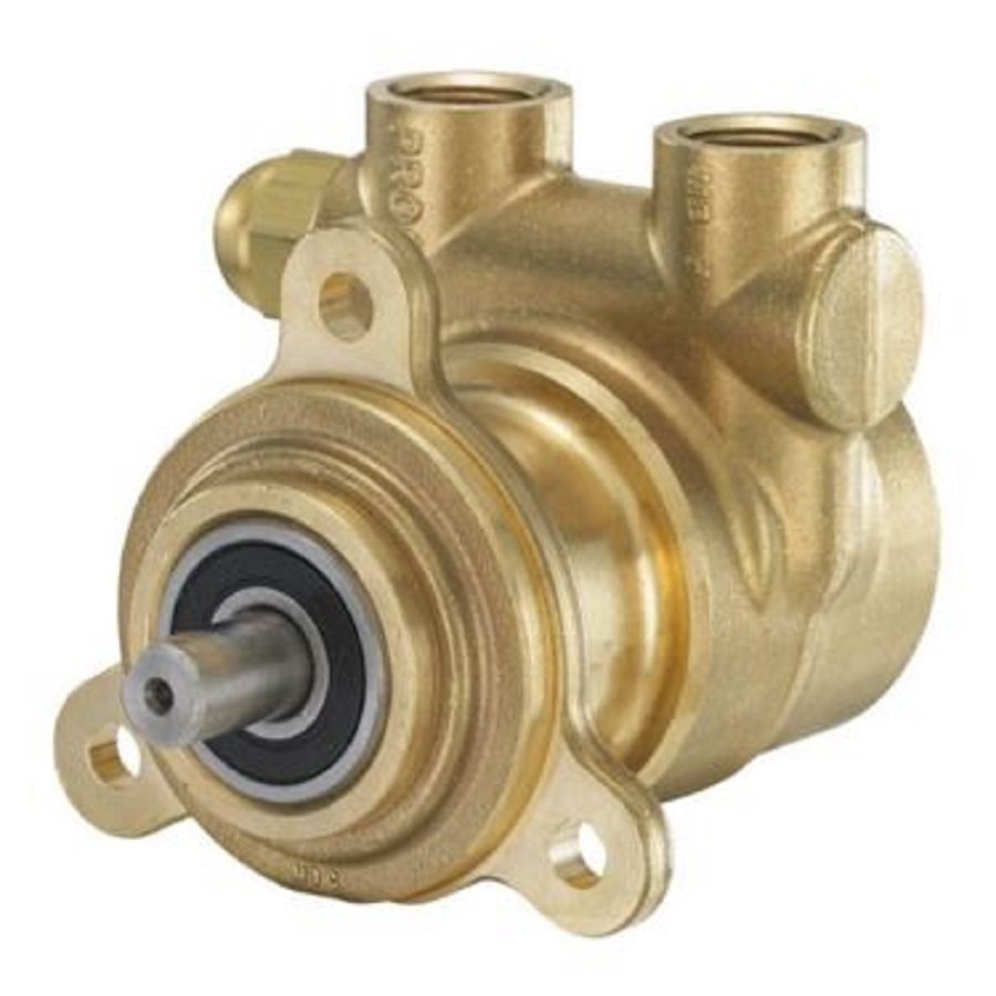 Procon 102a100f11ba Brass Rotary Vane Water Pump 100 Gph