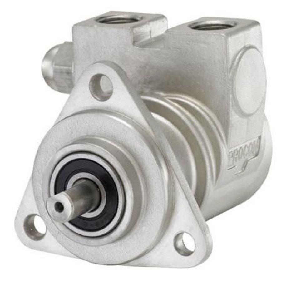 Procon 113A050F34XX Stainless Steel Rotary Vane Water Pump, 50 GPH, no  pressure setting