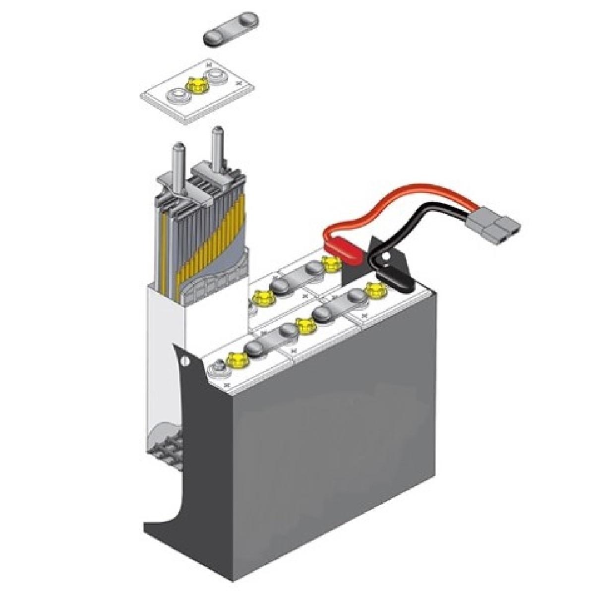 Electric Forklift Battery 18-85-23, 36 Volt, 935 Ah (at 6 hr )