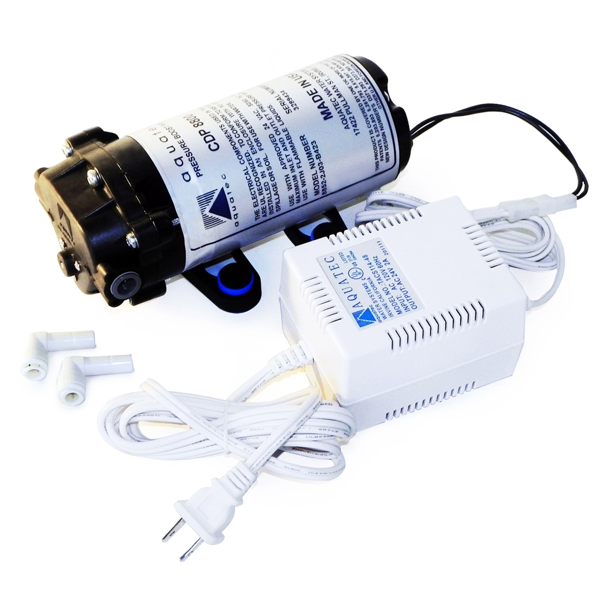 Aquatec Cdp8800 Booster Pump 8851 2j03 B423s Transformer
