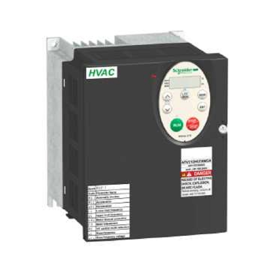 Schneider Electric Altivar 212 Variable Speed Drive 3kw 240v 3 240 Phase Contactor Wiring Ip21