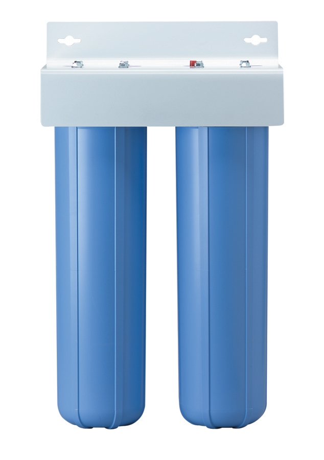 Whole House 2 Stage Water Filtration System Big Blue Housings