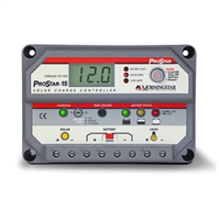 Morningstar ProStar Charge Controller With Meter, 15A, PS-15M