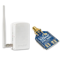 SolarEdge Zigbee to Ethernet Gateway Wireless Kit, with Antenna for Extended Range and 1 Slave