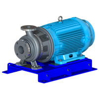FEDCO SLP 160-5 High Efficiency, Single Stage, Close Coupled Centrifugal Pump, Super Duplex