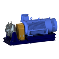 FEDCO SSD-500 Single Stage High Pressure Centrifugal Pump