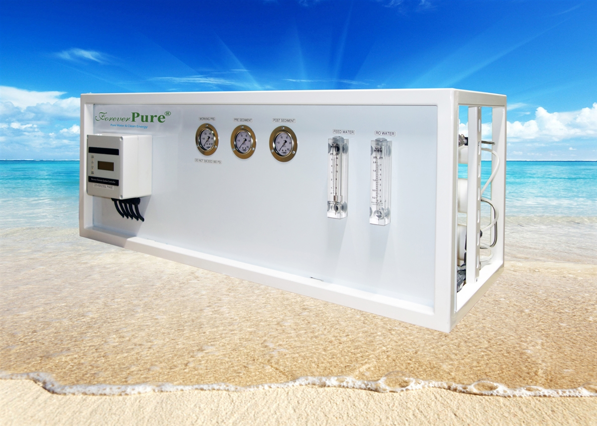 200 Gpd Seawater Desalination System Watermaker