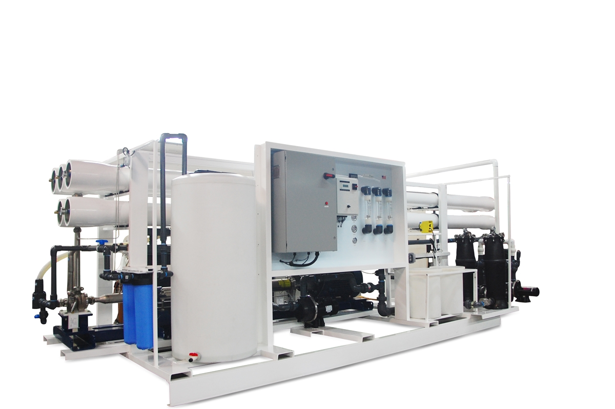 132 000 Gpd Seawater Desalination System With Energy